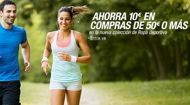 Cupón Descuento Amazon: Ahorra 10€ en Ropa Deportiva