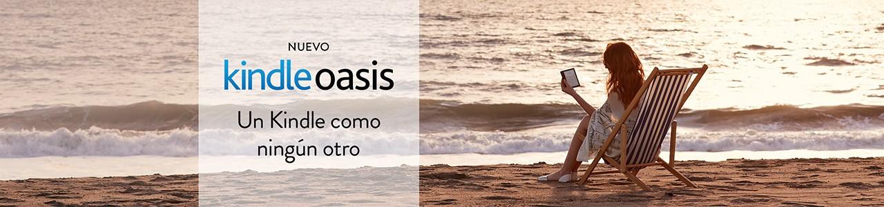 Kindle Oasis: El Nuevo eBook de Amazon
