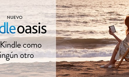 Kindle Oasis: El Nuevo eBook de Amazon
