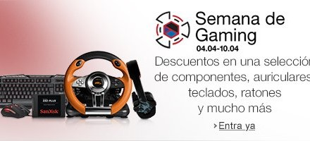 Ofertas Amazon: Semana de Gaming