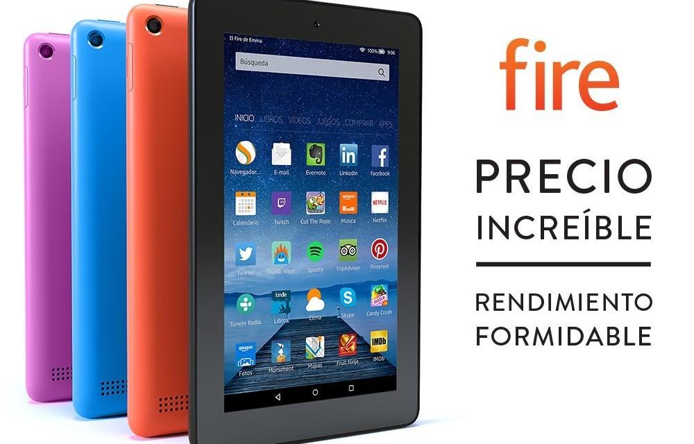 Tablet Fire: La Tablet Low Cost de Amazon ahora en más colores