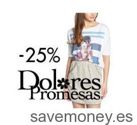 Ofertas Amazon: Ropa Dolores Promesa hasta el 25% de Descuento