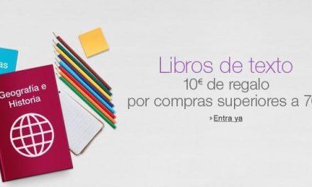 Libros de Texto: Cupón Descuento en Amazon