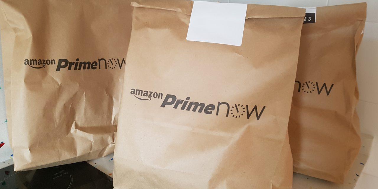 Probamos Amazon Prime Now