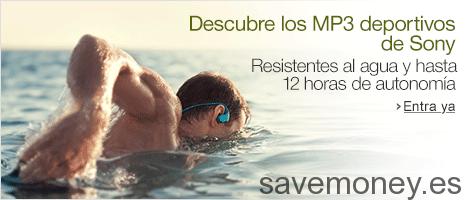 Auriculares in-ear: Descubre el nuevo MP3 de Sony resistente al agua salada