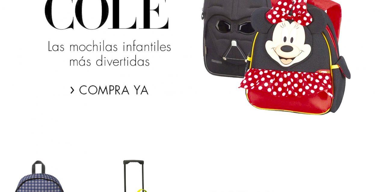 Vuelta al Cole: Especial Mochilas