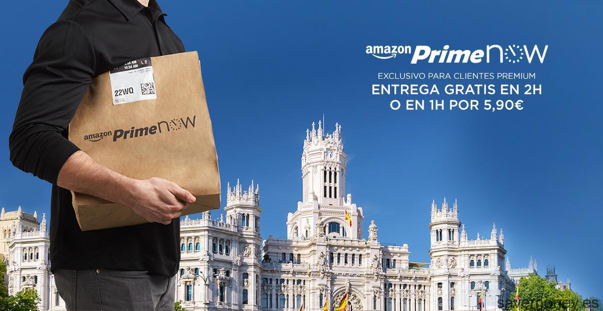 Amazon Prime Now en Madrid: Tu compra en casa en un par de horas