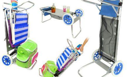 Vacaciones de Verano: Carro Portasillas Plegable
