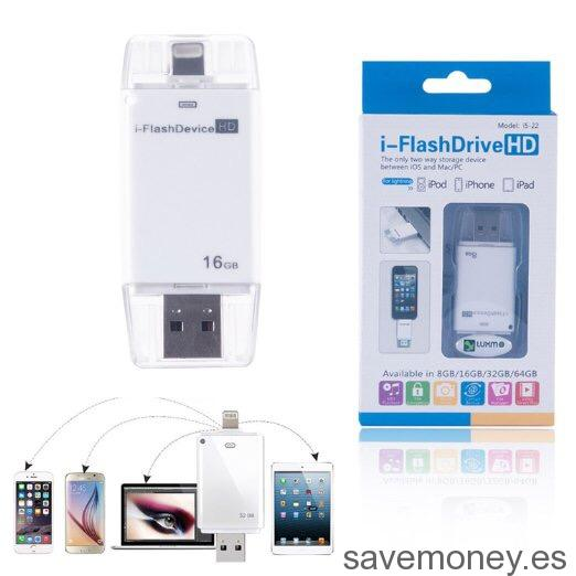 Memorias USB para dispositivos Apple