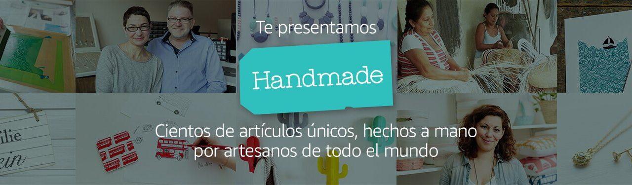 Novedades Amazon: Nueva Tienda Handmade