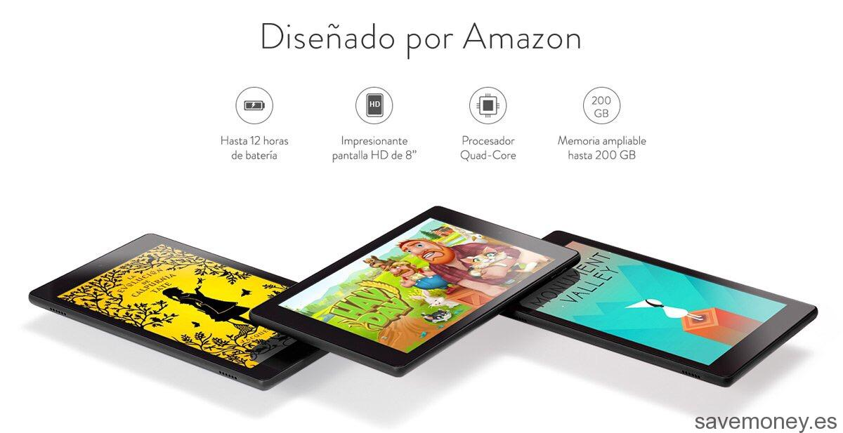 Tablet Amazon: Nueva Fire HD 8
