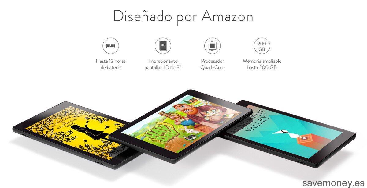 Tablet Amazon: Nueva Fire HD 8