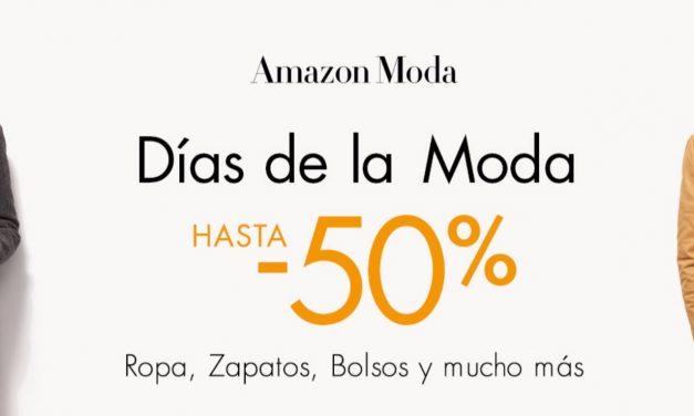 Ofertas Amazon: Hasta el 50% de descuento en Moda