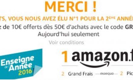 Cupón Descuento de 10€ en Amazon: Sólo hoy