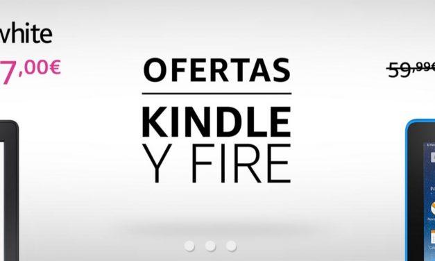 Ofertas Amazon: Especial Kindle y Fire
