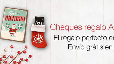 Ideas de Regalos: Cheques Amazon