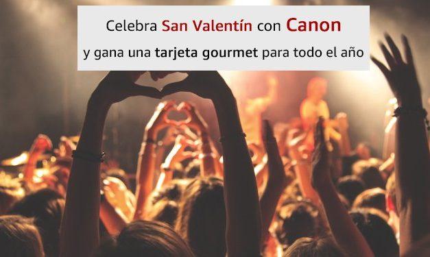 Canon: Oferta Especial San Valentín