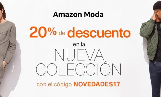 Cupones Descuento Amazon: 20% Descuento en Colección Primavera-Verano 2017