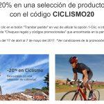 Cupón Descuento Amazon: 20% de Descuento en Ciclismo