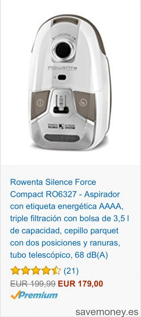 Amazon offers  Promotion Rowenta vacuum cleaners - SaveMoney Blog! 044dcf64a83