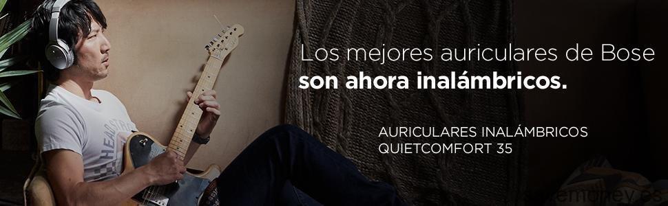 Ofertas Amazon: Auriculares Inalámbricos Bose QuickComfort 35