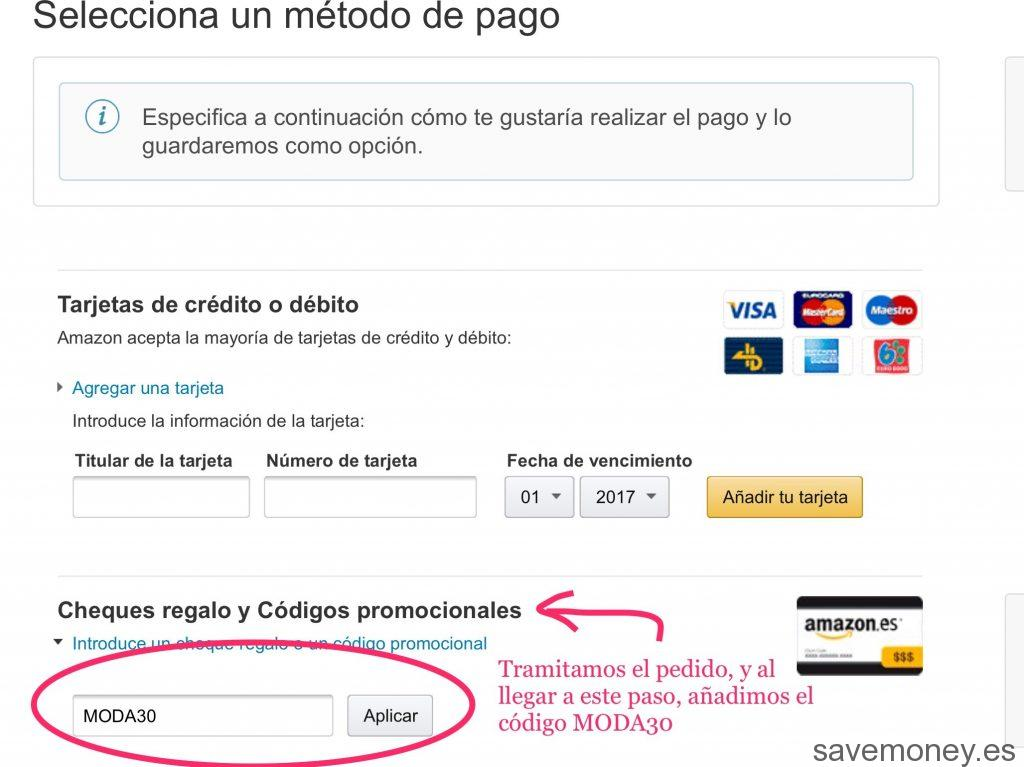 CODIGO DE PROMOCIONAL AMAZON