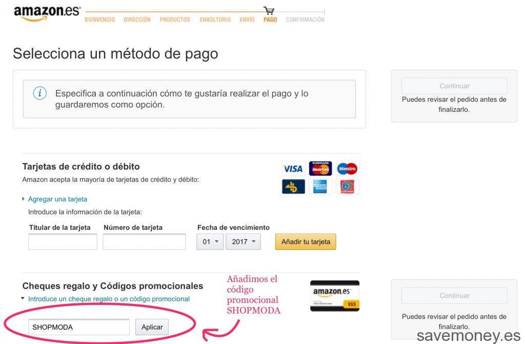 Cupon Descuento Amazon: Especial Moda - SaveMoney Blog!