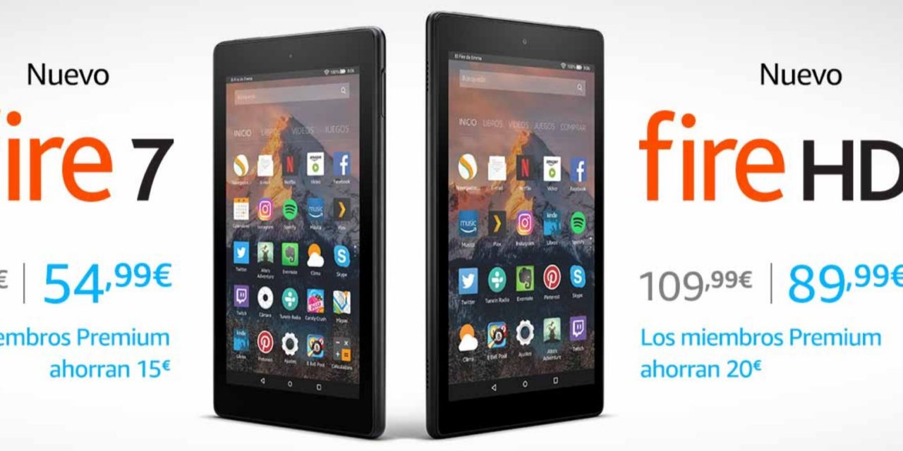 Amazon Premium: Ofertas en Tablets Fire