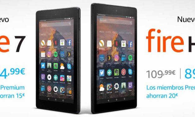 Amazon Premium: Ofertas en Tablets Fire