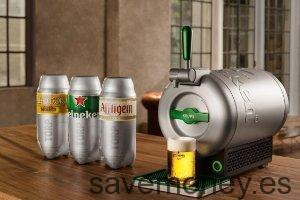 Ofertas Amazon: Tirador de cerveza The Sub Heineken Edition