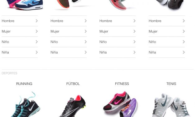 Nike ya vende sus productos en Amazon
