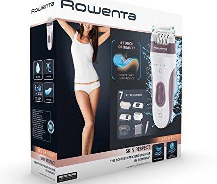 Promoción Amazon: Depiladoras Rowenta