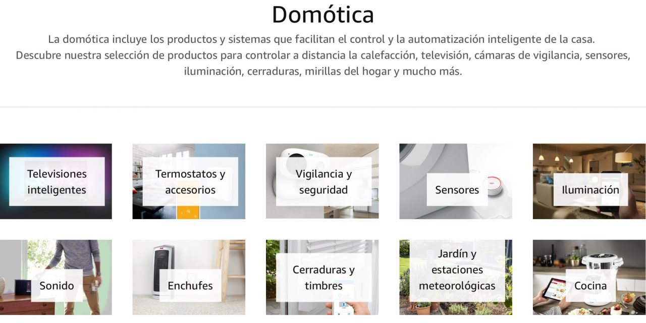 Novedades Amazon: Nueva Tienda de Domótica