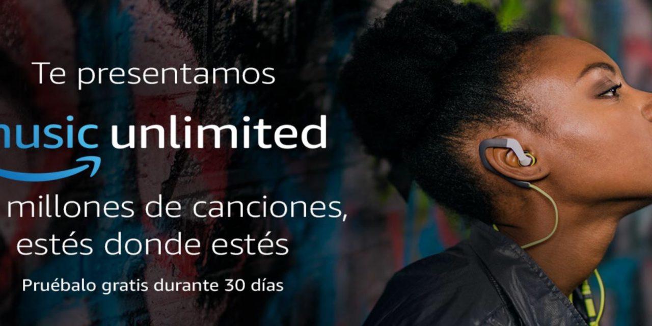 Novedades Amazon : Music Unlimited Pruébalo Gratis