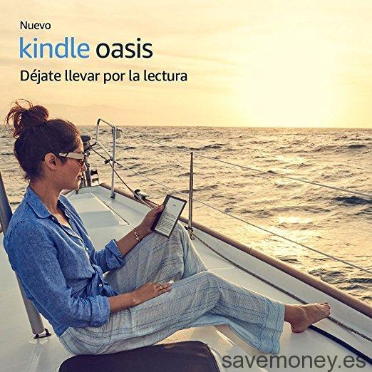 Nuevo Kindle Oasis: Resistente al Agua