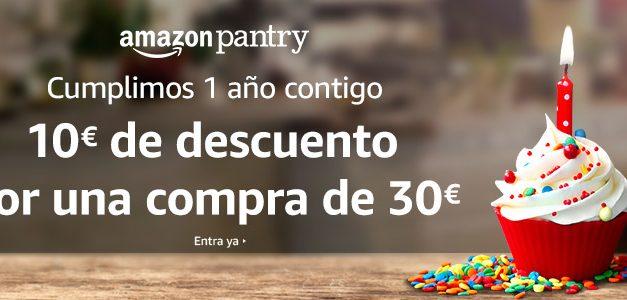 Promocion Amazon Pantry: Consigue 10€ de Descuento