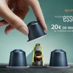 Promocion Nespresso: 20€ de Regalo en Capsulas Nespresso