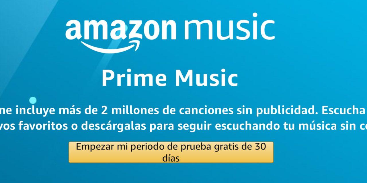 Prime Music: Escucha Música Gratis en Amazon