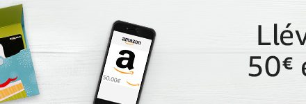 Amazon Gift cheques: promotion of €6