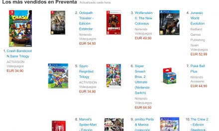Videojuegos en Preventa Disponibles en Amazon
