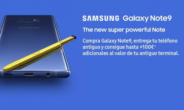 Galaxy Note 9: Promoción Amazon
