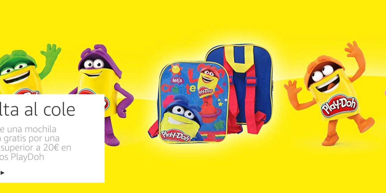 Vuelta la Cole: free Play Doh backpack