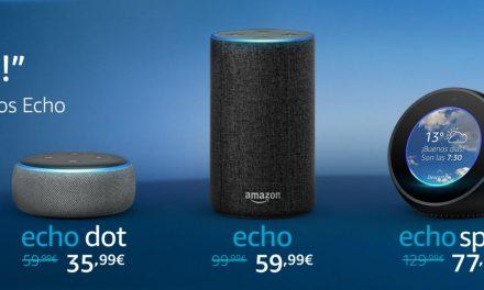 Amazon Echo: Llegan a España con grandes Descuentos