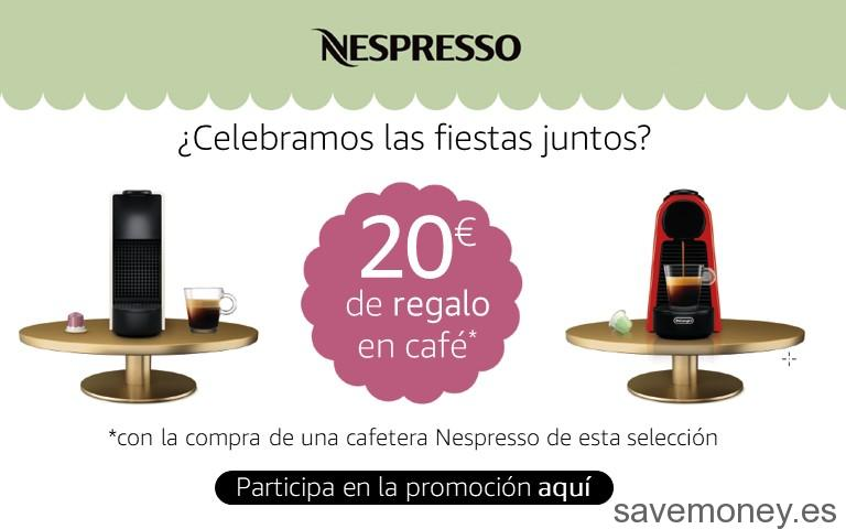 Amazon Promotion: €20 in Nespresso Capsúlas