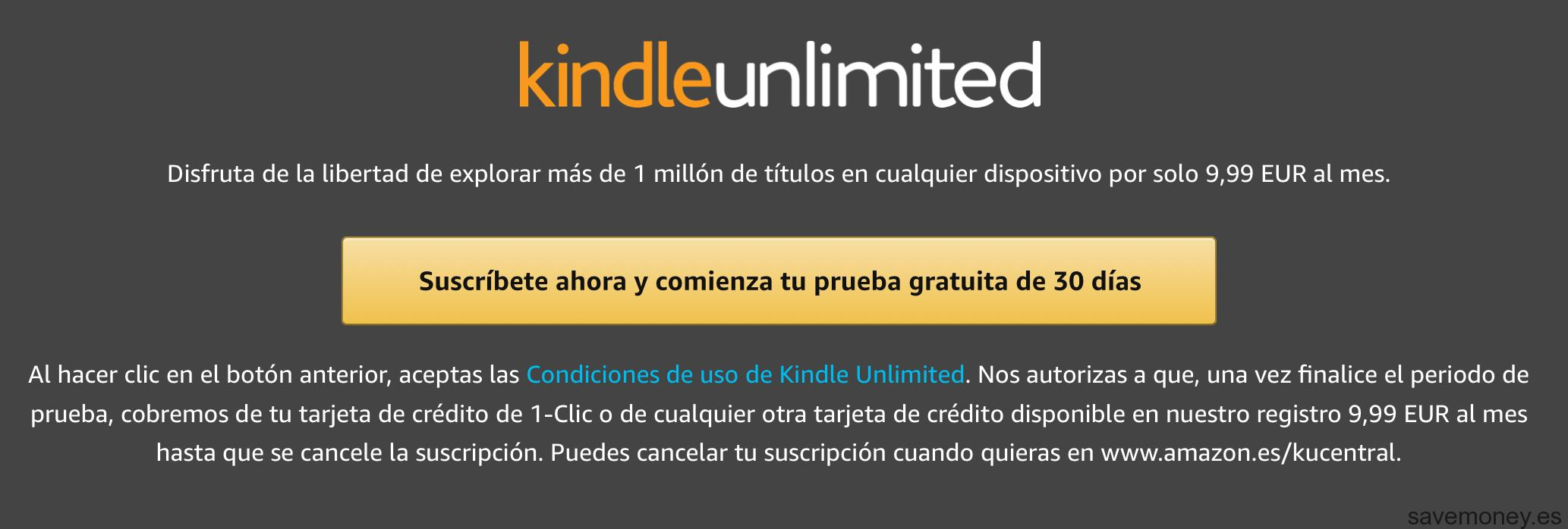 Kindle Unlimited: Try it for free - SaveMoney Blog!