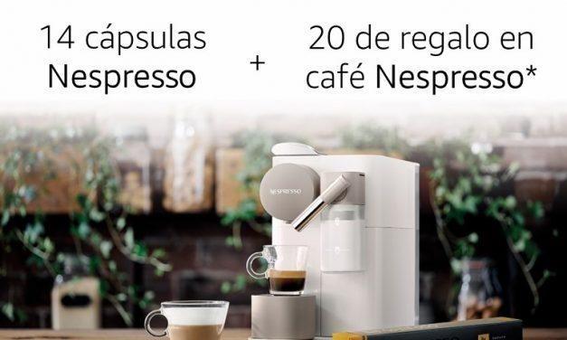 Promoción Amazon: 20€ Regalo Cápsulas Café Nespresso