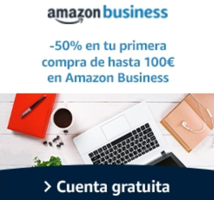 Amazon Business: Promotion 50% discount