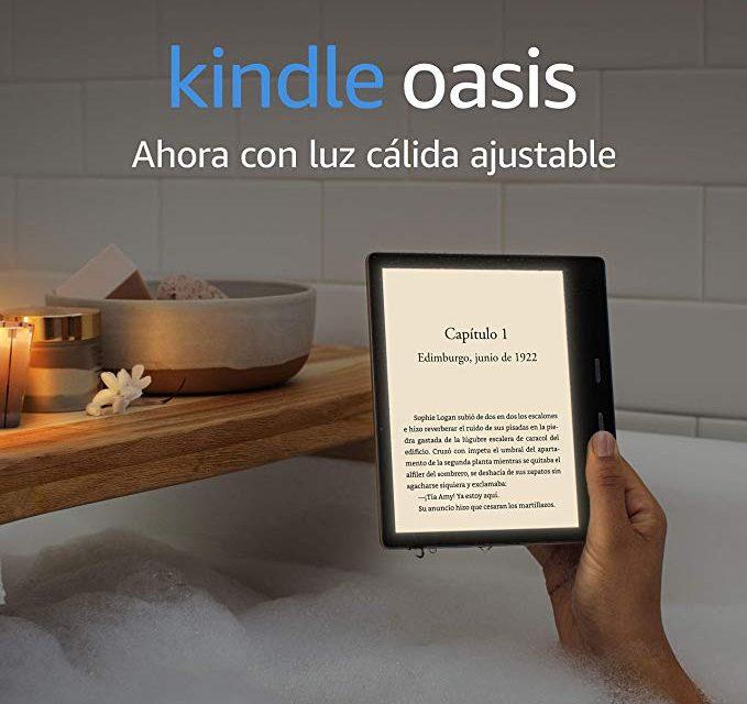 Nuevo Kindle Oasis 2019