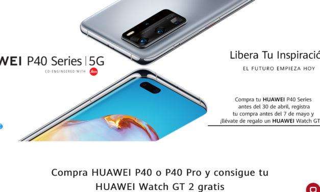 Promoción Huawei P40 y P40 Pro 5G