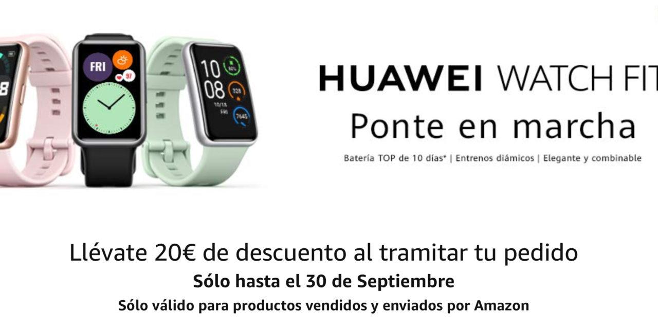 Smartwatch Huawei: Nuevo Huawei Watch Fit